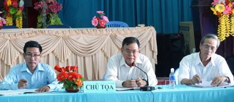 Bí thư Tỉnh ủy làm việc với Đảng ủy xã An Thới