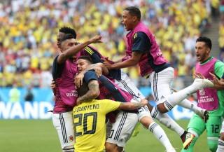 Nhật Bản bất ngờ quật ngã Colombia