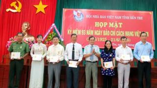 Họp mặt kỷ niệm 93 năm Ngày Báo chí cách mạng Việt Nam