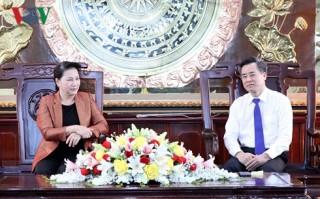 Chủ tịch Quốc hội thăm và làm việc tại tỉnh Bạc Liêu