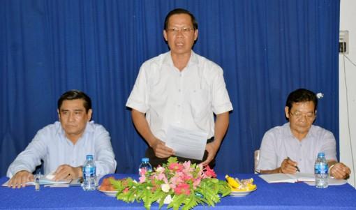 Phó bí thư Thường trực Tỉnh ủy Phan Văn Mãi: Kiểm tra kết quả thực hiện chương trình Đồng khởi khởi nghiệp