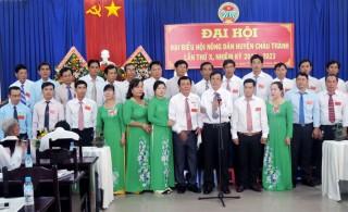 Ông Huỳnh Văn Hiếu đắc cử Chủ tịch Hội Nông dân huyện Châu Thành