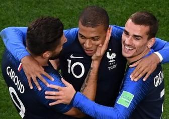 Mbappe lập kỷ lục, đưa tuyển Pháp vào vòng 1/8 World Cup 2018