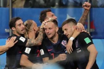 Á quân Argentina thảm bại trước Croatia