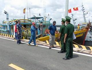 Phát hiện, xử lý 4 tàu vi phạm trong lĩnh vực khai thác thủy sản