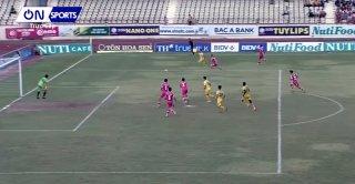 Vòng 16 V. League 2018: Sông Lam Nghệ An ngược dòng thắng Sài Gòn FC