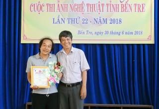 Trao giải Cuộc thi ảnh nghệ thuật tỉnh lần thứ 22 năm 2018