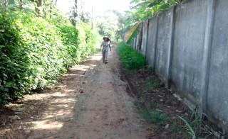 Chấp hành chủ trương chung để xây dựng lộ nông thôn