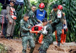 Thái Lan tìm thấy đội bóng thiếu niên mất tích trong hang động