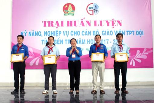 79 trại sinh hoàn thành huấn luyện kỹ năng, nghiệp vụ Đội năm 2018