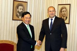Phó thủ tướng Phạm Bình Minh thăm chính thức Cộng hòa Bulgaria
