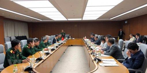 Việt Nam - Nhật Bản tiến hành đối thoại chính sách quốc phòng lần 6
