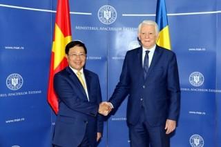 Phó thủ tướng, Bộ trưởng Phạm Bình Minh thăm chính thức Romania