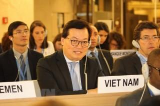 Hội đồng Nhân quyền Liên hợp quốc thông qua nghị quyết do Việt Nam dự thảo