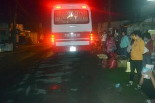 Tai nạn xe ô tô khách làm 1 người tử vong