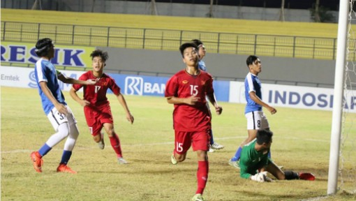 Việt Nam xếp dưới Lào, bị loại ở giải U19 Đông Nam Á