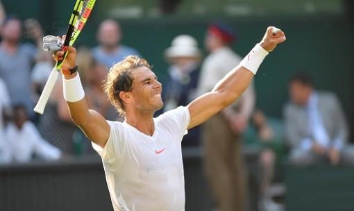 Nadal lần đầu vào tứ kết Wimbledon sau 7 năm