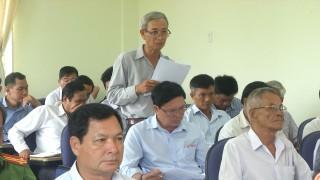 Ủy ban MTTQ huyện Thạnh Phú sơ kết công tác 6 tháng đầu năm 2018