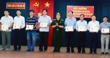 87 học viên hoàn thành chương trình bồi dưỡng quốc phòng và an ninh