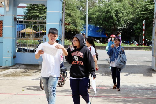 98,47% thí sinh đỗ tốt nghiệp THPT 2018