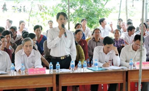 Châu Thành đối thoại giữa người đứng đầu cấp ủy huyện với nhân dân