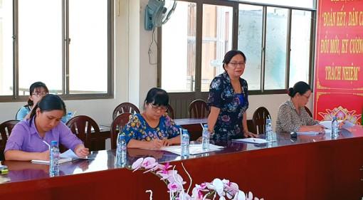 """Giám sát thực hiện đề án """"Hỗ trợ phụ nữ khởi nghiệp"""" tại Thạnh Phú"""