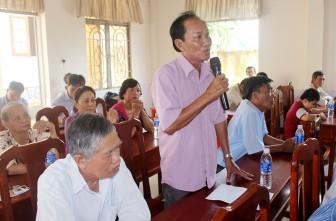 Đại biểu HĐND tỉnh tiếp xúc cử tri các huyện, thành phố