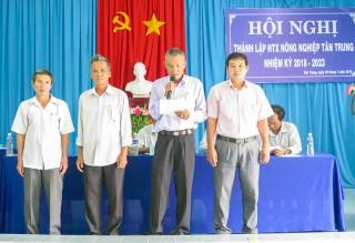 Ra mắt Hợp tác xã Nông nghiệp Tân Trung