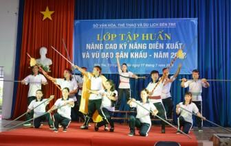 Huyện Giồng Trôm tổ chức lễ cải táng hài cốt liệt sĩ