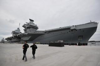 Anh sẽ điều tàu sân bay tới hỗ trợ các tàu Australia ở Biển Đông