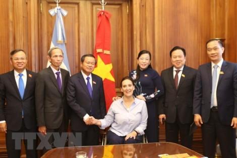 Việt Nam và Argentina thúc đẩy hợp tác trong lĩnh vực lập pháp