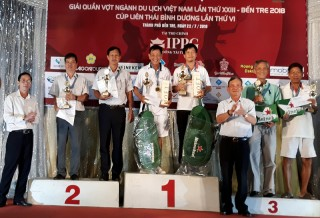 Bế mạc Giải Quần vợt ngành du lịch Việt Nam lần thứ XXIII - Bến Tre năm 2018