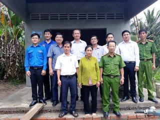 5 hộ gia đình ở Châu Thành được nhận nhà tình thương