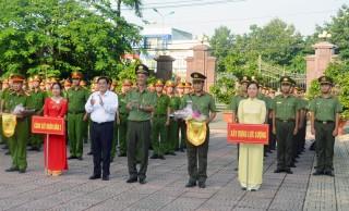 Hội thi điều lệnh, quân sự, võ thuật Công an nhân dân lần thứ V năm 2018