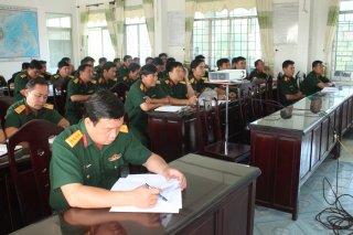 Tập huấn chuyên ngành tham mưu kỹ thuật, chuyên ngành quân khí và xe máy