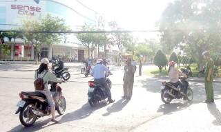 TP. Bến Tre thực hiện điều tiết giao thông đường 30-4 và đường Trần Quốc Tuấn