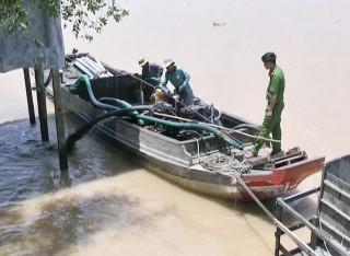 Xử lý 2 trường hợp khai thác cát sông và thủy sản trái phép