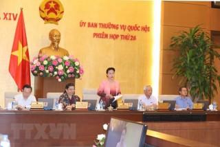 Khai mạc Phiên họp thứ 26 của Ủy ban Thường vụ Quốc hội