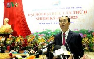 Chủ tịch nước dự Đại hội đại biểu Hiệp hội doanh nhân cựu chiến binh lần 2