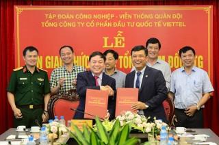 Ông Đỗ Mạnh Hùng thay tướng Lê Đăng Dũng lãnh đạo Viettel Global