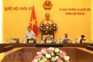 Ủy ban Thường vụ Quốc hội cho ý kiến về dự án Luật Kiến trúc