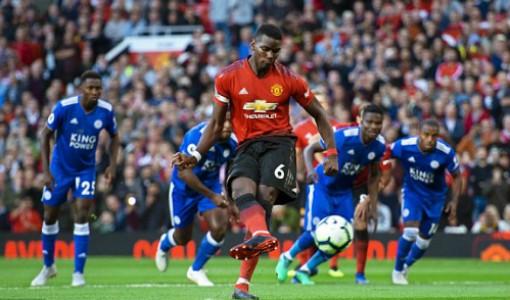 Pogba ghi bàn, Man Utd thắng trận mở màn Ngoại hạng Anh
