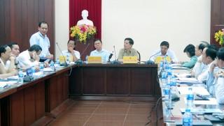 Bộ trưởng Bộ Giao thông vận tải Nguyễn Văn Thể làm việc tại Bến Tre