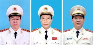 Điều động, bổ nhiệm 8 tướng Công an
