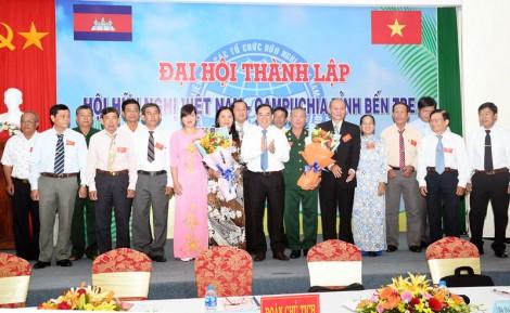 Thành lập Hội hữu nghị Việt Nam - Campuchia tỉnh Bến Tre