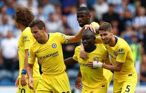 Chelsea giữ ngôi đầu bảng Giải Ngoại hạng Anh sau chiến thắng đậm