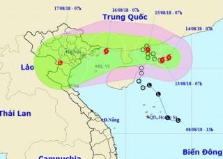 Áp thấp nhiệt đới mạnh lên thành bão, gây nguy hiểm trên Biển Đông
