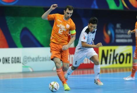 Thái Sơn Nam thua ngược ở chung kết futsal châu Á