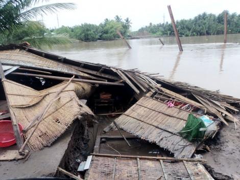 Sạt lở móng cầu Hòa Lộc 2, thiệt hại trên 2 tỷ đồng