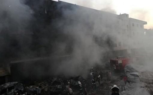 Nổ kho vũ khí ở Syria, hơn 30 người chết, 45 người bị thương